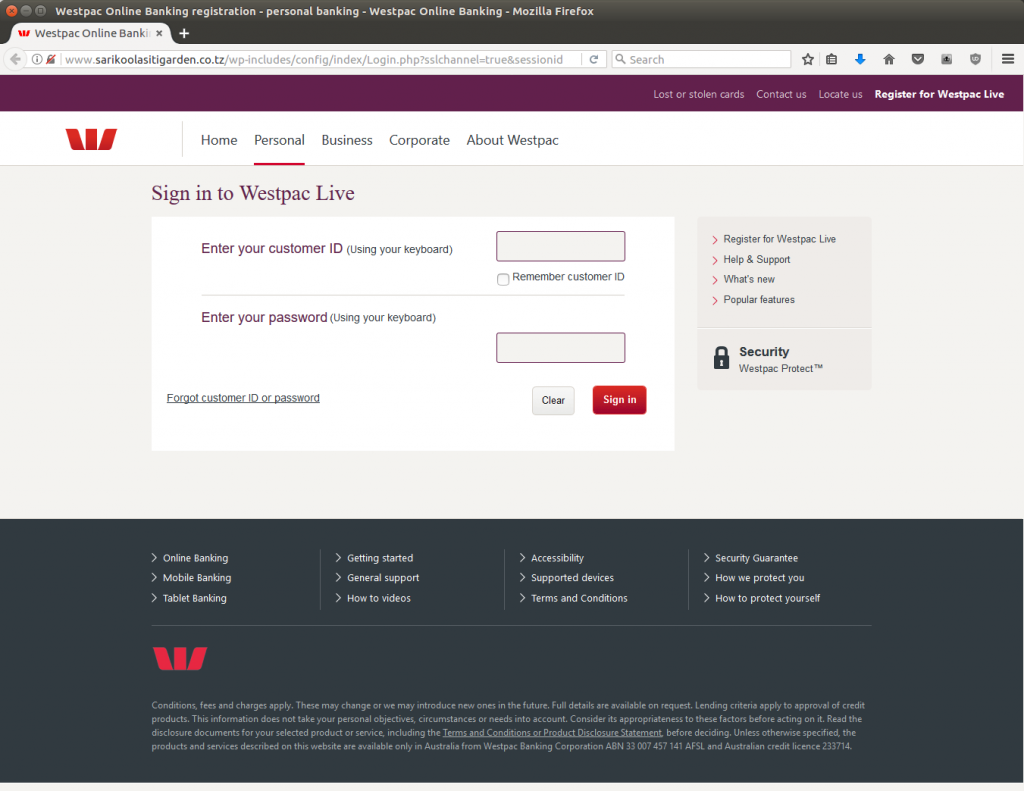 Westpac customers it's your turn to have you account 'locked'